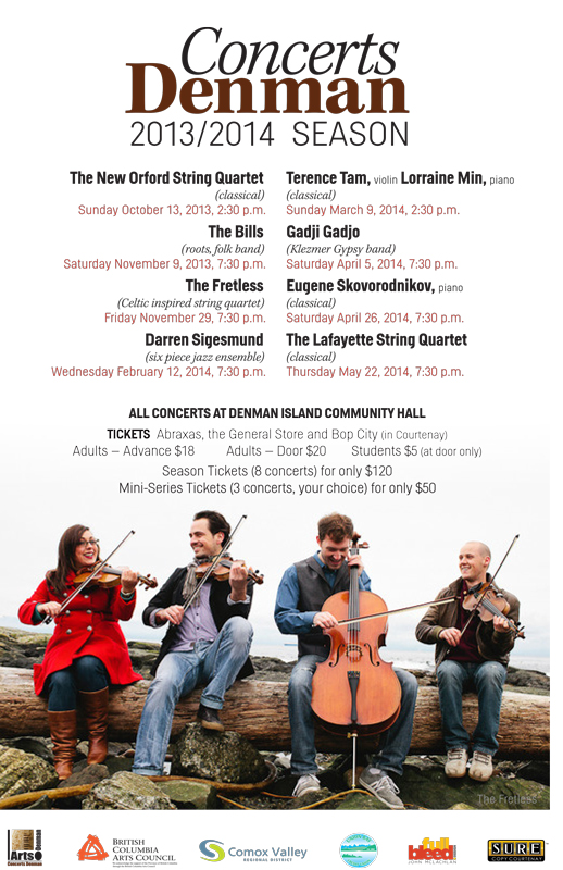 Concerts Denman 2013-2014 Season